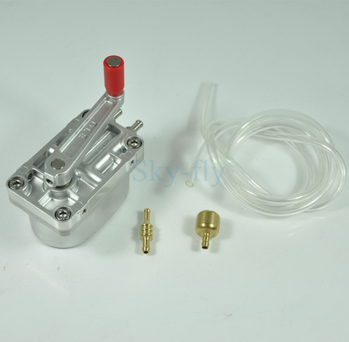 DLE Flow Metal Gear Fuel Hand Pump 18ML one roll for RC Gasoline plane
