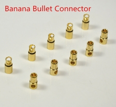 10 Pairs 2mm/3mm/3.5mm/4mm/5.5mm/6mm Gold Plated Male & Female Bullet Banana Plug Connector for ESC Battery