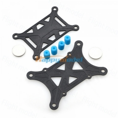 Black flight control damping plate Controller Board Anti-vibration Set Shock Absorber For APM 2.5 2.6/KK/MWC