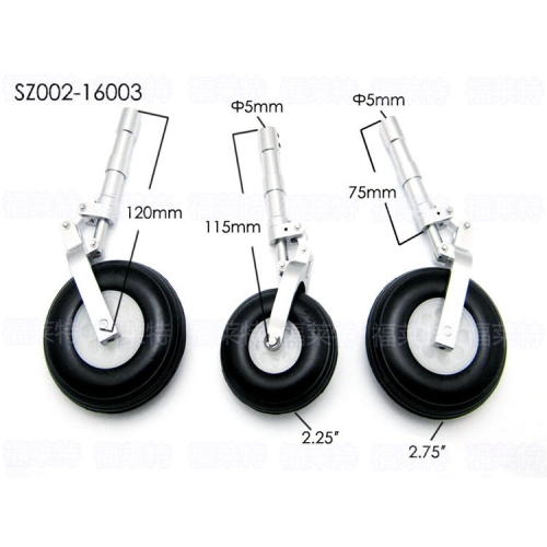 SZ002-16003 Alloy Undercarriage Anti-vibration Landing Gear kit