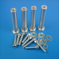 1set Engine Aluminum column 30C18 with screw for DLE30/35RA fixed wing aircraft