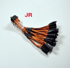 "5pc/lot 150mm 6"" Y Servo Extension Cord Lead Wire Cable For JR Plug"