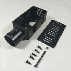 CNC Alu Alloy D30mm Tube Motor Mount Kit Parts For Plant Protection UAV Drone Multicopter