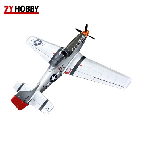 P-51 Old Crow Mustang 68inch 20CC EP/GP ARF