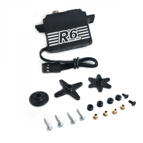 Power HD R6 7.5KG 7.4V Digital Servo For 1:12 Pan RC Cars
