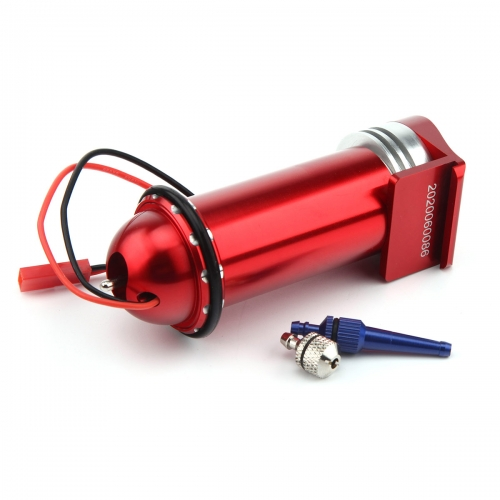 Miracle RC Metal Electric Fuel Pump 7.2-12V For Gas and Nitro Aluminum Anonized Version II